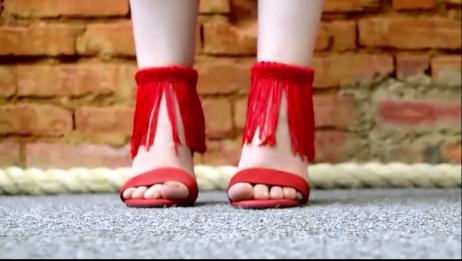 E está prontaaa a nossa sandália de franjinhas <3 amo!